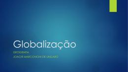Globalização - Escola Rainha do Brasil