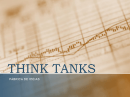 think tanks2 - Strategia Consultores