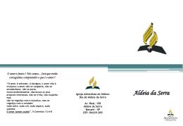 19/05/2012 - IASD Alphaville e Aldeia da Serra
