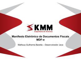 Manifesto Eletrônico de Documentos Fiscais MDF-e