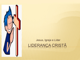 Liderança Cristã - Comunidades.net