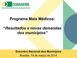 Rodrigo Lacerda – CONASEMS