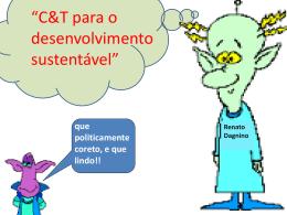O Enfoque CTS e a Tecnologia Social