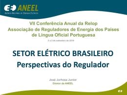 Setor Elétrico Brasileiro: Perspetivas do Regulador