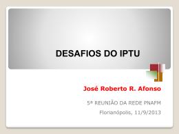 Desafios do IPTU