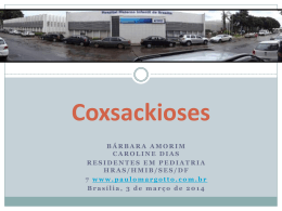 Coxsackioses - Paulo Roberto Margotto
