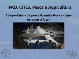 FAO, CITES, Pesca e Aquicultura