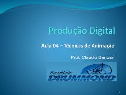 Aula 04 - Prof. Ms. Claudio Benossi