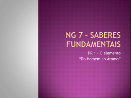 NG 7 * Saberes Fundamentais
