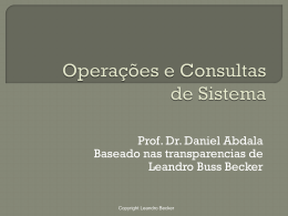 OperacoesDeConsulta