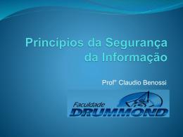 Face - Prof. Ms. Claudio Benossi
