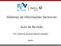Aula de Revisão (27/11/2014)
