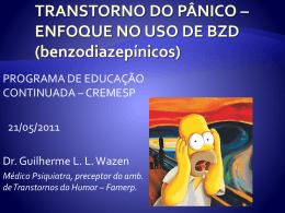 Transtorno do Pânico - Enfoque no Uso de BZD