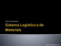 Sistema Logistico e de materiais