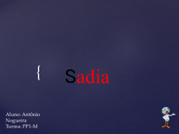 Sobre a Sadia