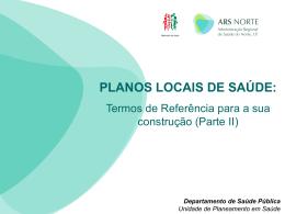 Plano (local) de Saúde
