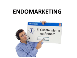 "Endomarketing – ""marketing interno"""