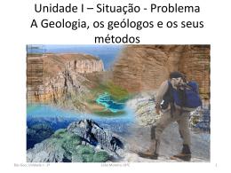 A geologia, os geólogos e os seus métodos - ppt