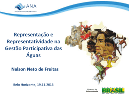 Representacao e representatividade_bh 19/112013