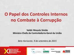 O Papel dos Controles Internos no Combate à Corrupção