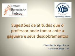 Professor - Eliana Maria Nigro Rocha
