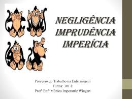 Aula 19 Negligência-Imprudência-Imperícia