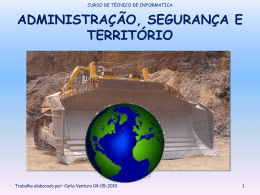 Campos de actuação/regulação da autarquia - pradigital-carla
