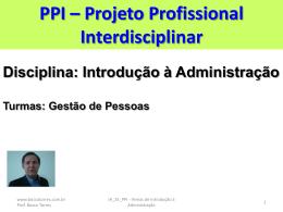 PPI_IA_01_Temas de Introdução à Administração
