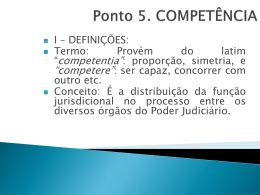 Competência - Vallisney Oliveira