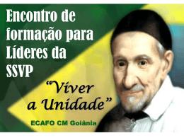 Formação Líderes - Conselho Metropolitano de Goiânia da SSVP
