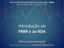 RDA - Fabrício Assumpção