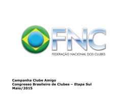 Clube Amigo - Confederação Brasileira de Clubes