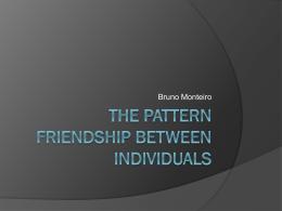 Redes de Amizade