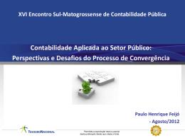 Contabilidade Aplicada ao Setor Público - CRC-MS