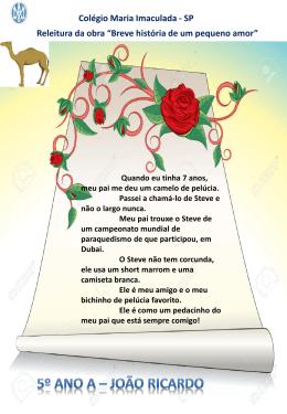 João Ricardo - Colégio Maria Imaculada