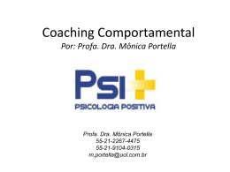 Coaching Comportamental Por - Psi+