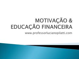 PALESTRA - EDUCAÇÃO FINANCEIRA