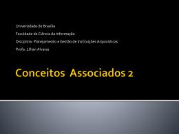 Vantagens - Universidade de Brasília