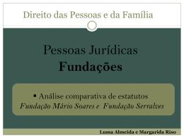 Fundação Serralves - Faculdade de Direito da UNL
