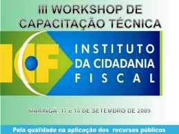 art. 29 - Observatório Social do Brasil