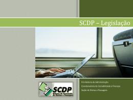 SCDP – Legislação - Pró