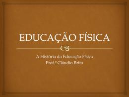 EDUCAÇÃO FÍSICA - Colégio O Bom Pastor