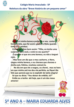 Slide 1 - Colégio Maria Imaculada