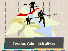 Administração- todas as teorias