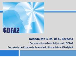 18 – iolanda – Apresentação COGEF SC