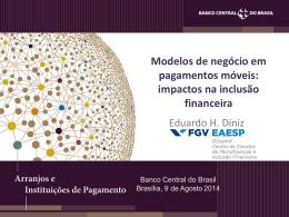 Título da Palestra - Banco Central do Brasil