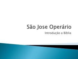 2. Bíblia 1 - Paróquia São José Operário