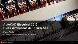AutoCAD Electrical 2013 - Dicas Avançadas de