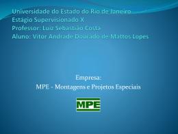 Apresentação Vitor A. D. Mattos Lopes