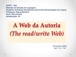 A Web da Autoria - ambientes-sociotecnicos